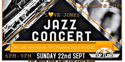 Love Jones Jazz Concert plus Comedy Show