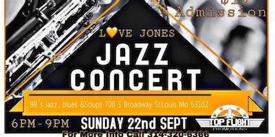 Love Jones Jazz Concert plus Comedy Show