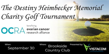 The Destiny Heimbecker Memorial Charity Golf Tournament tickets