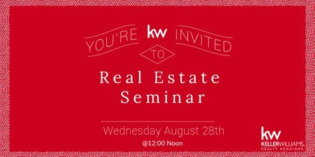 Real Estate Seminar  tickets