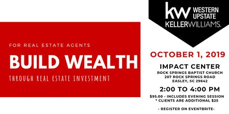 Build Wealth w/ Real Estate Investment tickets