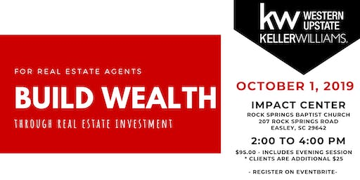 Build Wealth w/ Real Estate Investment