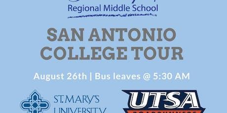 GRMS San Antonio College Tour tickets