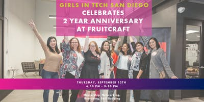 Girls in Tech San Diego Celebrates Two!