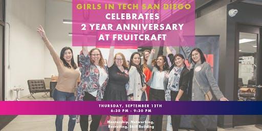 Girls in Tech San Diego Celebrates Two!