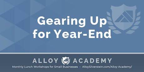 Gearing Up for Year-End - Alloy Academy Hammonton tickets