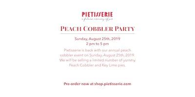 Pietisserie's Peach Cobbler Party