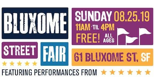 Bluxome Street Fair - August 25, 2019