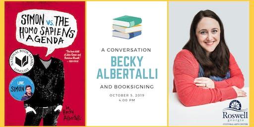 Conversation with Love, Simon Author Becky Albertalli