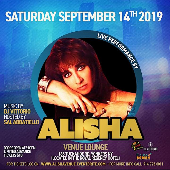 Alisha Performing Live @ Venue image