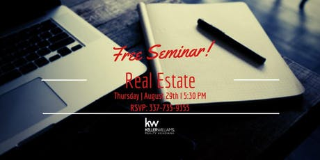 Real Estate Seminar (FREE) tickets