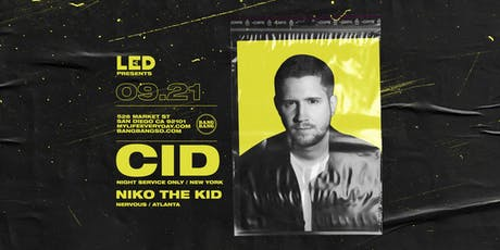 CID + NIKO THE KID tickets