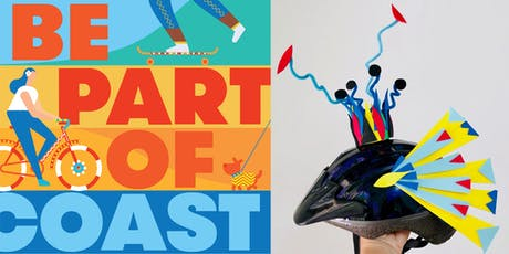 COAST Workshop: Decorate your helmet, hat or head with Marianne Sadowski tickets
