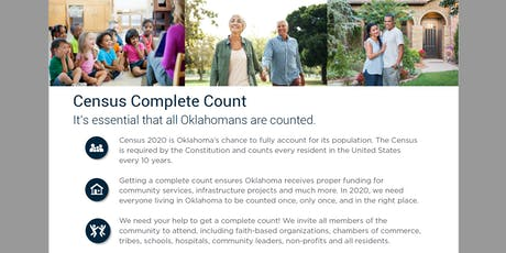 Oklahoma 2020 Complete Count Kick-Off tickets