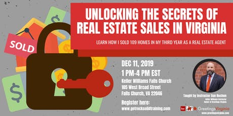 Unlocking the Secrets of Real Estate Sales in Virginia tickets