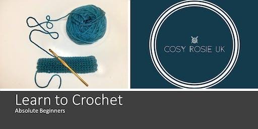 Learn to Crochet - Absolute Beginners