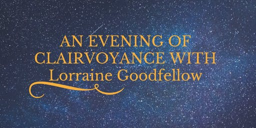 EVENING OF CLAIRVOYANCE AT CHESTERFORDS COMMUNITY CENTRE, SAFFRON WALDEN