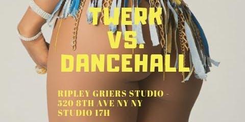 Twerk meets Dancehall meets  Soca Dance Class WORKSHOP w B- Randi