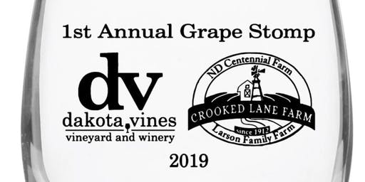 Dakota Vines Vineyard & Winery - Grape Stomp Registration