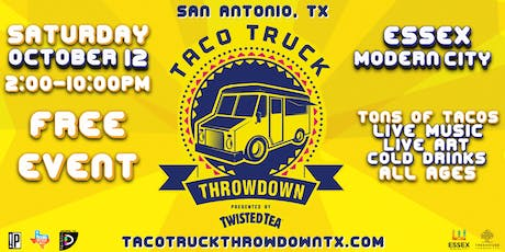 Taco Truck THROWDOWN tickets
