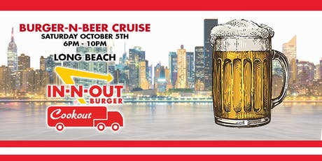 Burger n Beer Cruise tickets