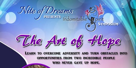 The Art of Hope tickets