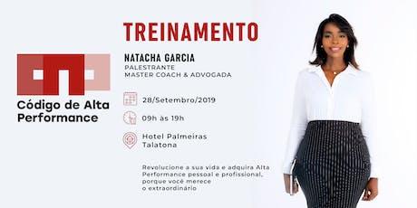 CAP - TREINAMENTO DE ALTA PERFORMANCE bilhetes