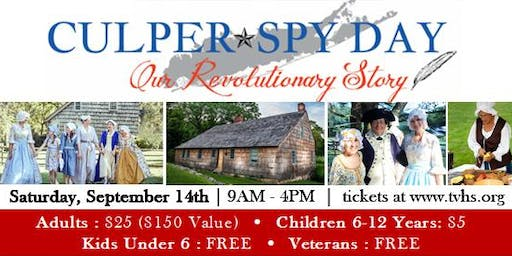 5th Annual Culper Spy Day 2019