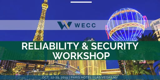 Reliability and Security Workshop - October 2019