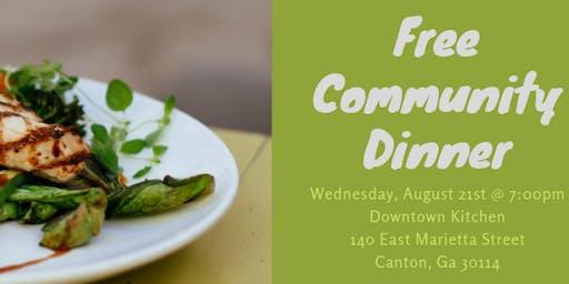 Moss Family Wellness Community Dinner