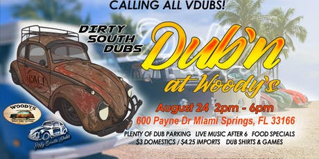 Dub'n at Woody's tickets