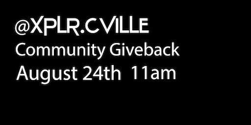XPLR CLARKSVILLE- Community Giveback