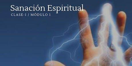 Formación de Sanación Espiritual tickets