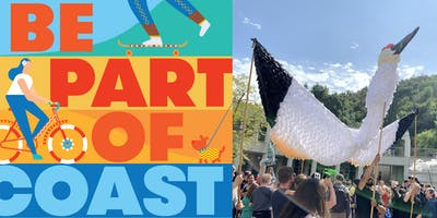 COAST Workshop: Sea to Sky: Giant Puppet Making with Beth Peterson