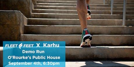 Karhu Demo Run tickets
