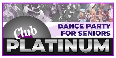 Club Platinum Dance Party for Seniors September - Seniors Dance Toronto - Dance Seniors tickets