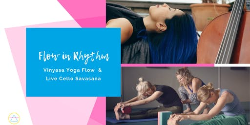 Yoga + Live Cello: Flow in Rhythm - Wed 28 Aug