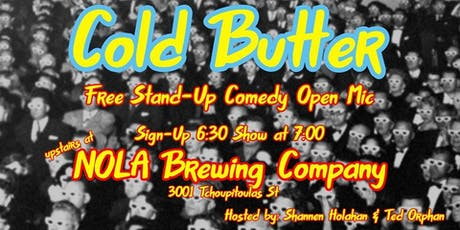 Cold Butter Comedy Open Mic tickets