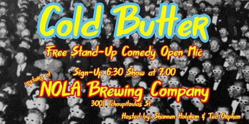 Cold Butter Comedy Open Mic