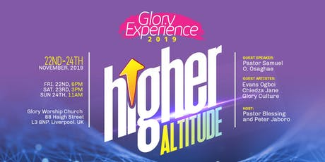 Glory Experience 2019 tickets