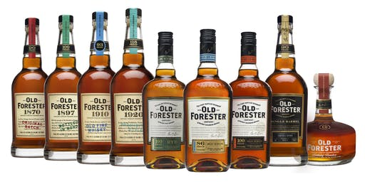 OLD FORESTER BOURBON DINNER: GHOSTS OF BIRTHDAYS PAST