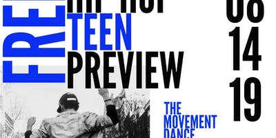 Free Hip Hop Teen Preview