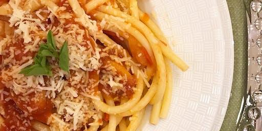 Aula de Culinária- Comida Italiana