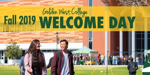 Welcome Day Fall 2019