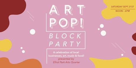 Art Pop! Block Party  tickets