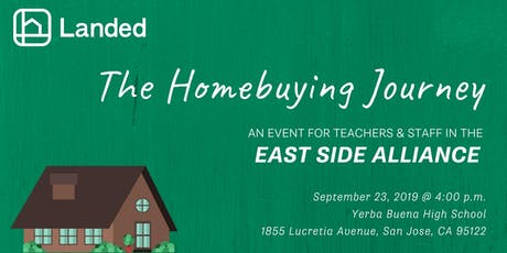 CALIFORNIA: Landed Homebuying Journey for East Side Alliance Staff tickets