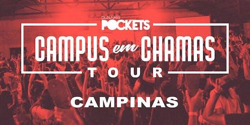 CAMPUS EM CHAMAS TOUR / CAMPINAS - SP