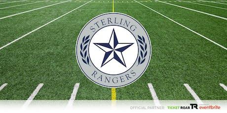 Ross S Sterling vs BMT. United Varsity Football tickets