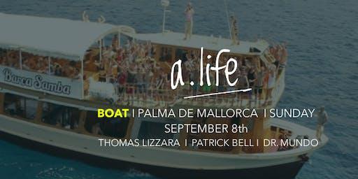 a.life BOAT Palma de Mallorca, Thomas Lizzara, Patrick Bell, Dr. Mundo