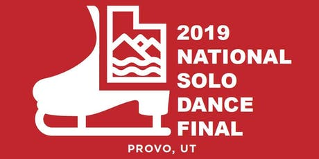 2019 National Solo Dance Final tickets